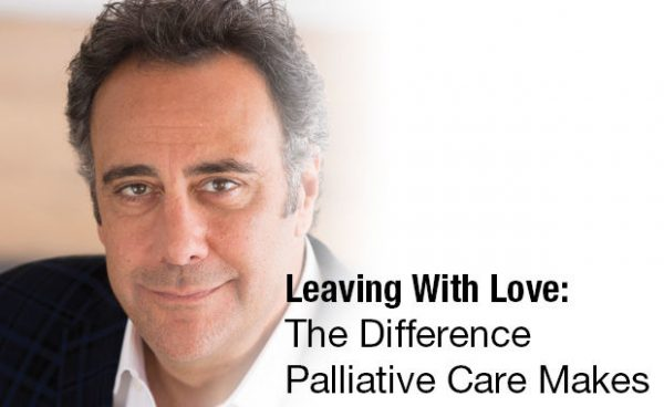 Leaving With Love The Difference Palliative Care Makes